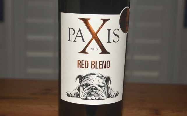 2013 Paxis Red Blend Lisboa Portugal