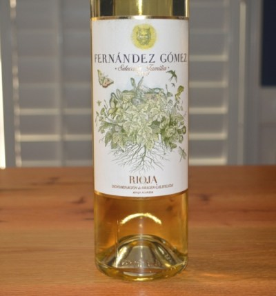 2015 Fernandez Gomez Seleccion Familia White Rioja