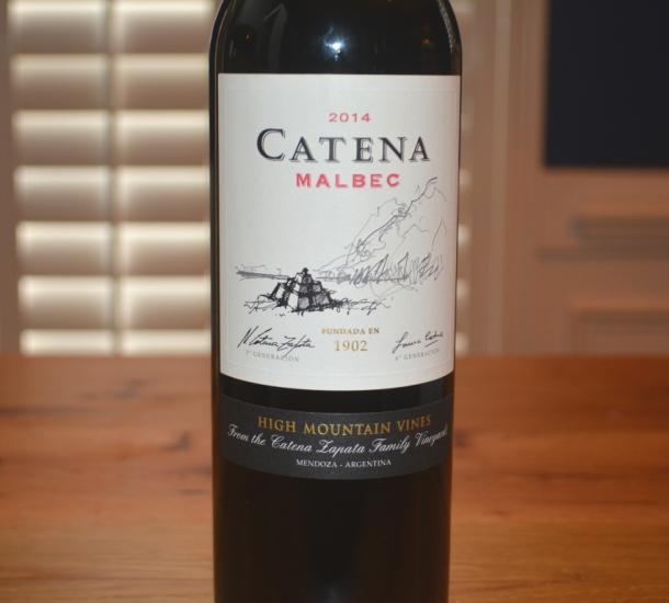 2014 Catena Malbec Mendoza