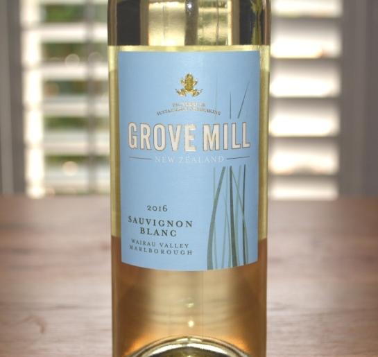 2016 Grove Mill Sauvignon Blanc Wairau Valley Marlborough