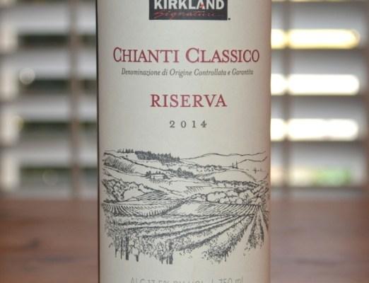 2014 Kirkland Signature Chianti Classico Riserva