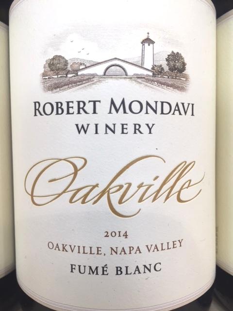 2014 Robert Mondavi Oakville Fume Blanc