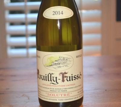 2014 Domaine Auvigue Pouilly-Fuisse Solutre