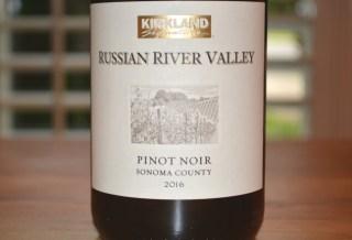 2016 Kirkland Signature Russian River Pinot Noir