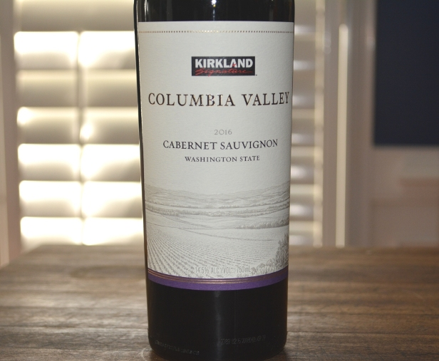 2016 Kirkland Signature Columbia Valley Cabernet Sauvignon