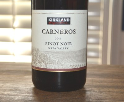 2016 Kirkland Signature Carneros Pinot Noir