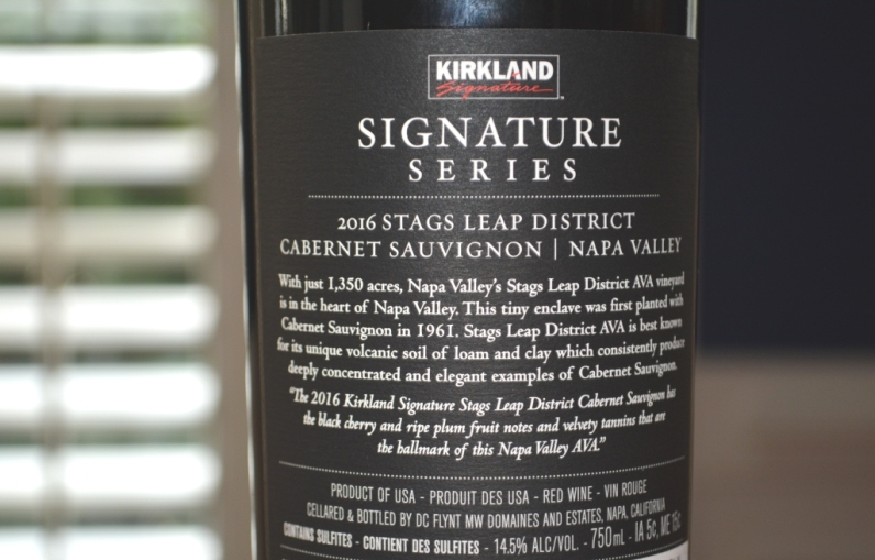 2016 Kirkland Stags Leap Cabernet Sauvignon