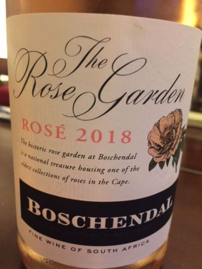 2018 Boschendal The Rose Garden Rose