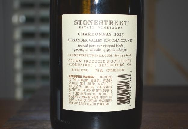 2015 Stonestreet Chardonnay