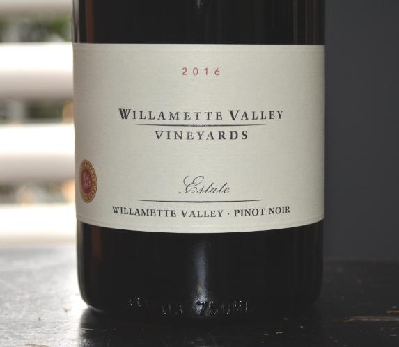 2016 Willamette Valley Vineyards Estate Pinot Noir