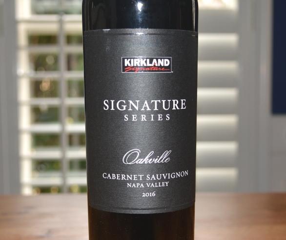2016 Kirkland Signature Oakville Napa Cabernet Sauvignon