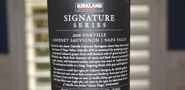 2016 Kirkland Oakville Napa Cabernet Sauvignon