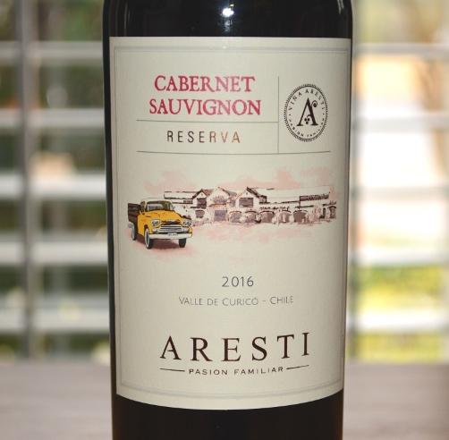 2016 Bellavista Aresti Reserva Cabernet Sauvignon