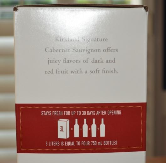 Kirkland Box Cabernet