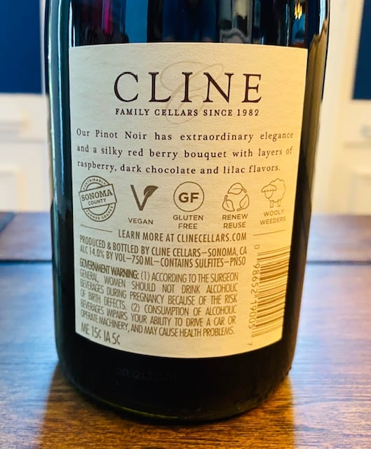 Cline Pinot