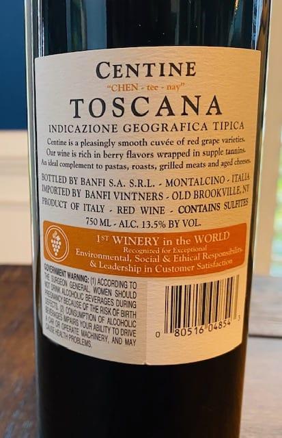 Banfi Centine Toscana