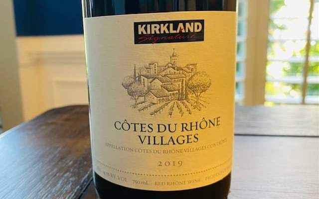 Kirkland Cotes du Rhone Featured
