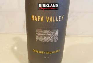 2018 Kirkland Signature Napa Valley Cabernet Sauvignon