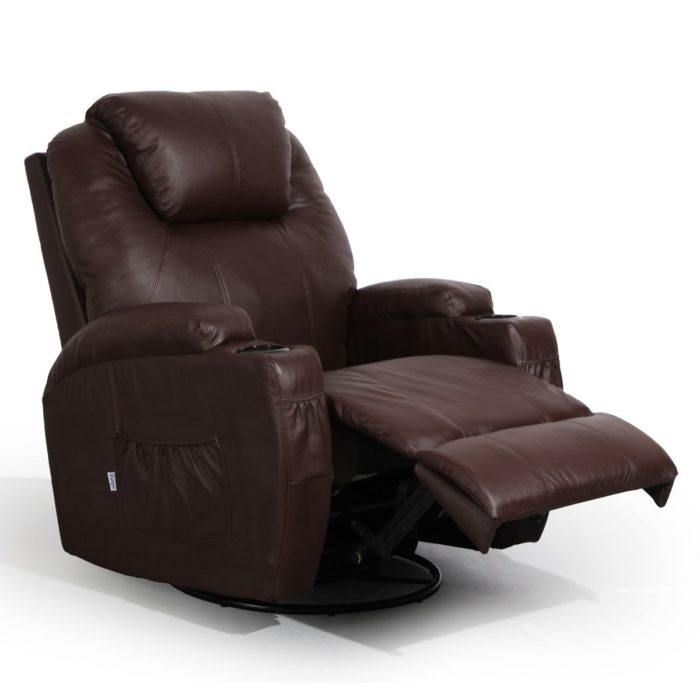 brown swivel chair counter high 5 of the best chairs for your living room costculator