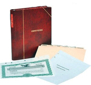 Corporate binder