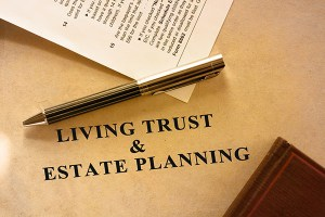 Living trust and estate planning document