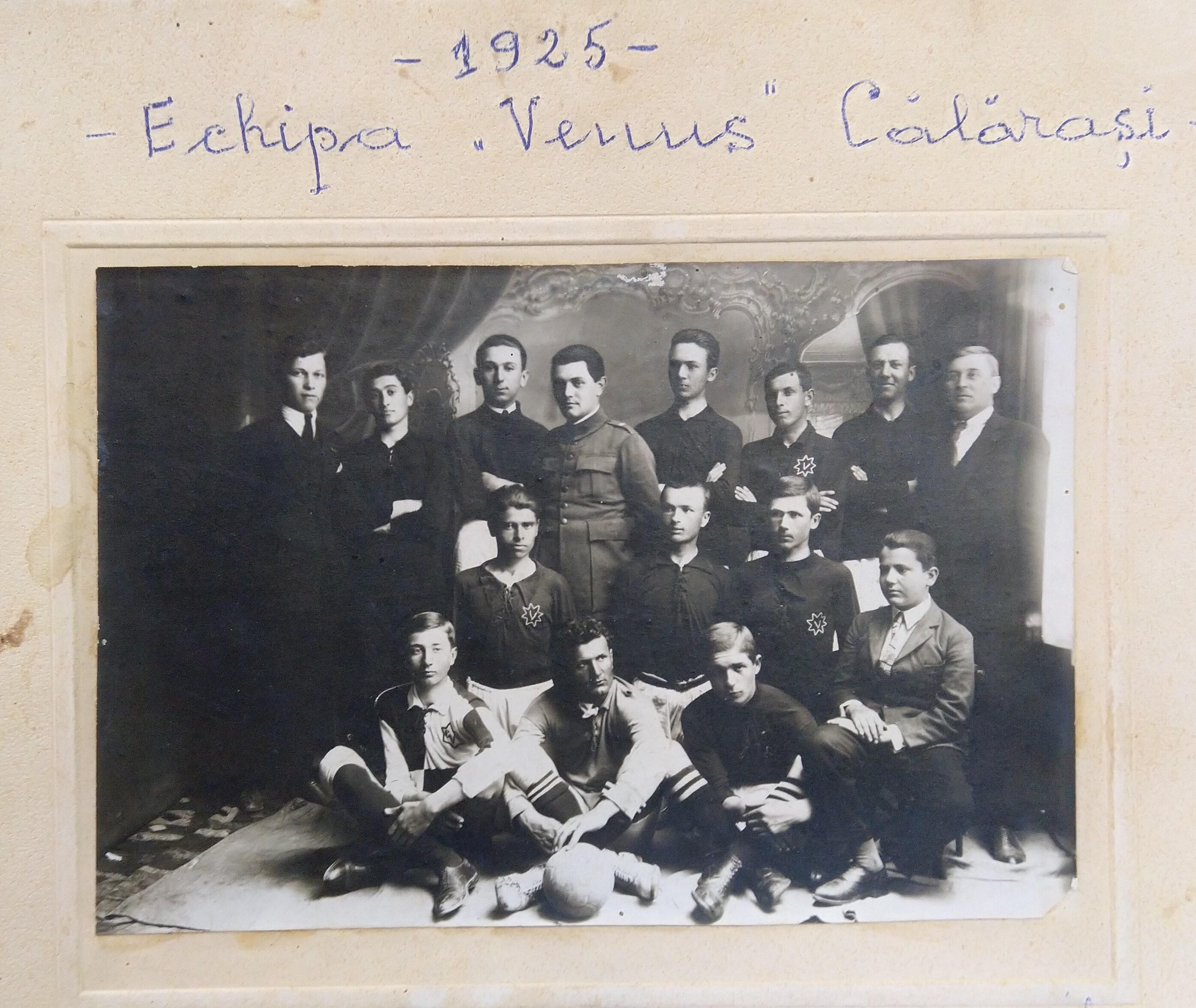 1925 Echipa Venus Calarasi in anul constituirii