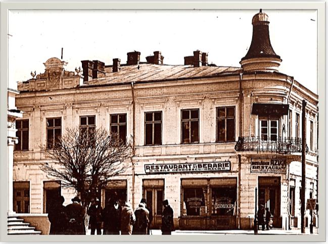 Restaurant Georgescu Graur (fostul Cazinou) 1936