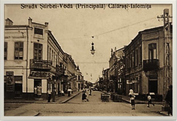 Stirbei Vedere spre Primărie 1924