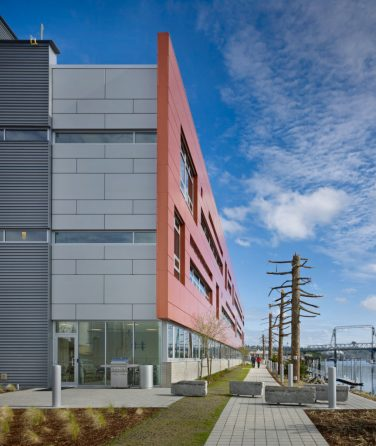 The Center for Urban Waters. Tacoma, Washington. Clients: Perkins + Will, NDC, Flack+Kurtz and Turner Construction. © Benjamin Benschneider All Rights Reserved. Usage may be arranged by contacting Benjamin Benschneider Photography. E-mail: bbenschneider@comcast.net or phone 206-789-5973