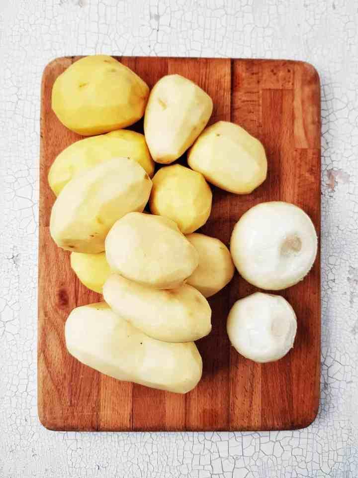 Cartofi și ceapă