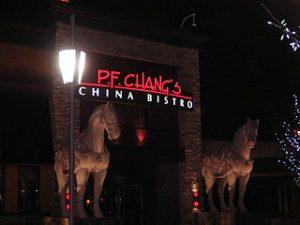 P.F Changs restaurant