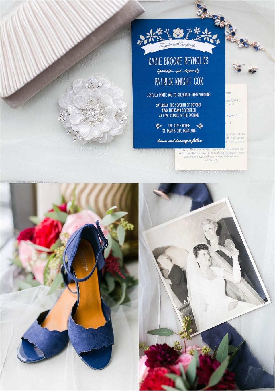 St Mary's City State House Maryland Wedding