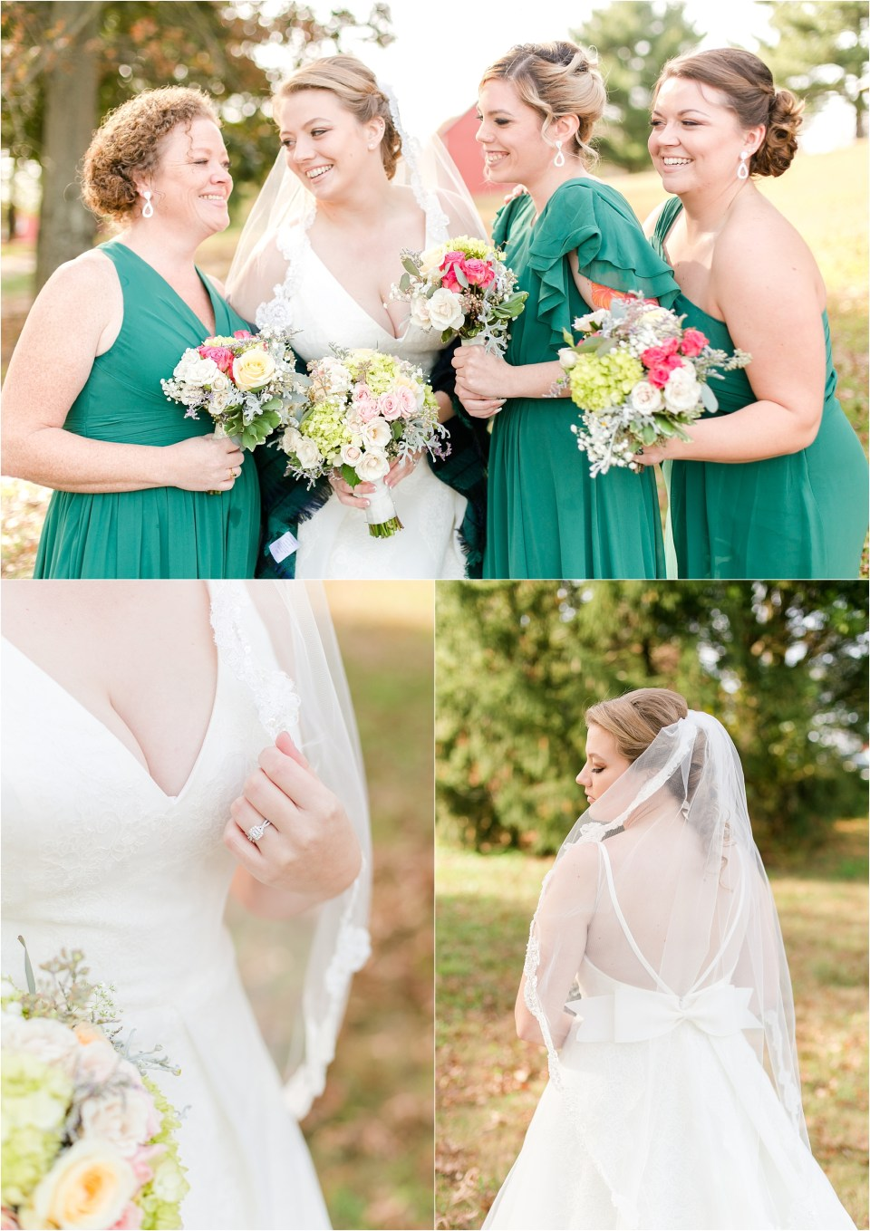 Robin Hill Farm and Vineyard Costola Maryland Wedding Photographer