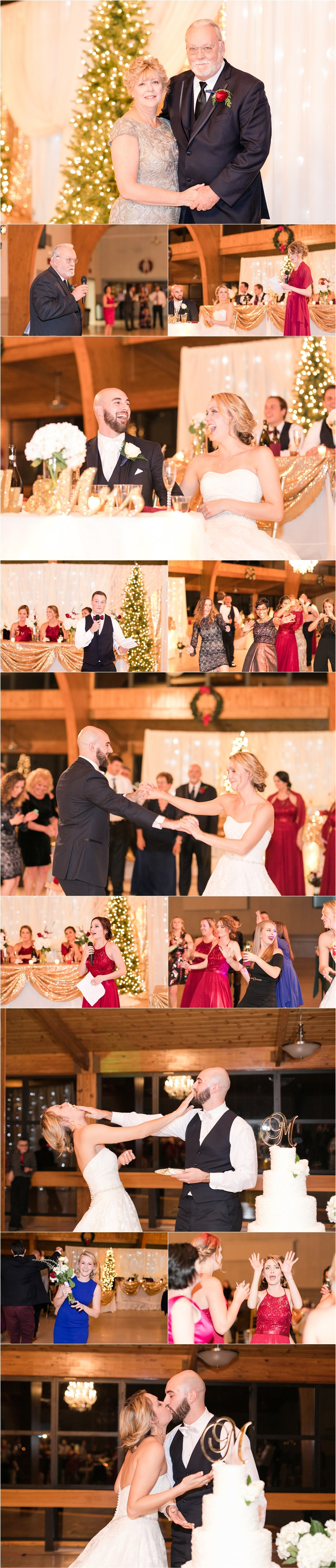 Southern Maryland Winter Wedding