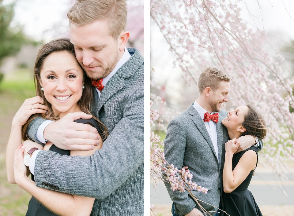 Washington D.C. Cherry Blossom Engagement Costola Photography