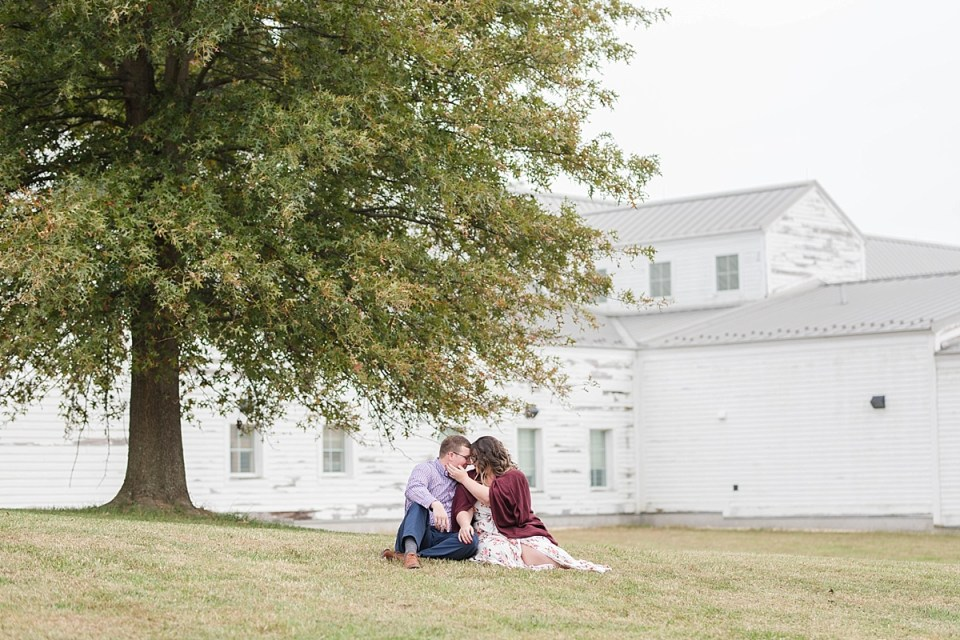Beachy Fall Engagement Session