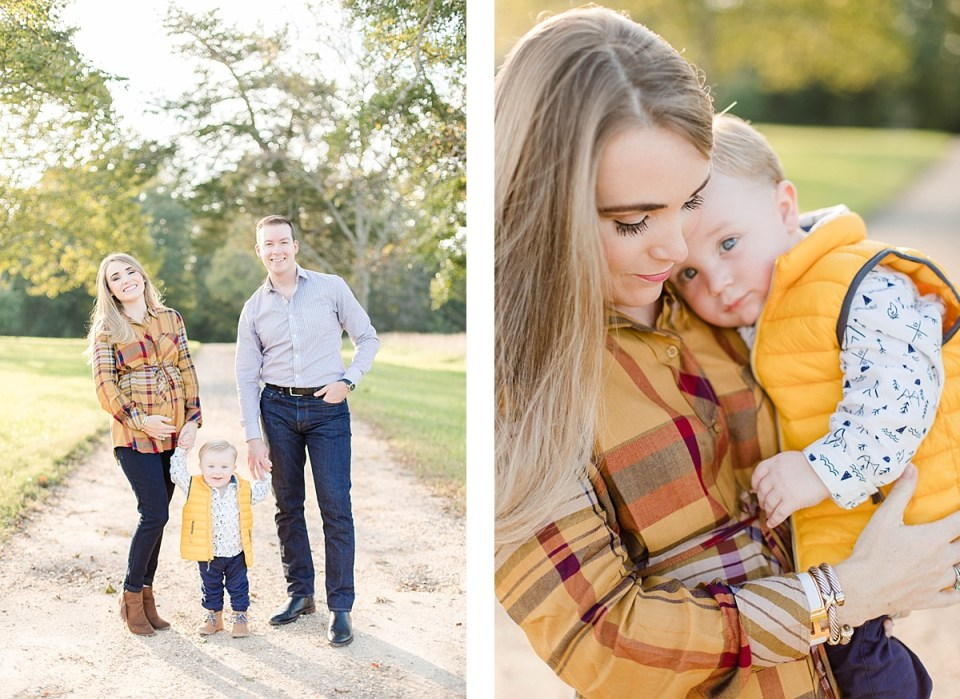 Southern Maryland Fall Maternity Session Costola Photography