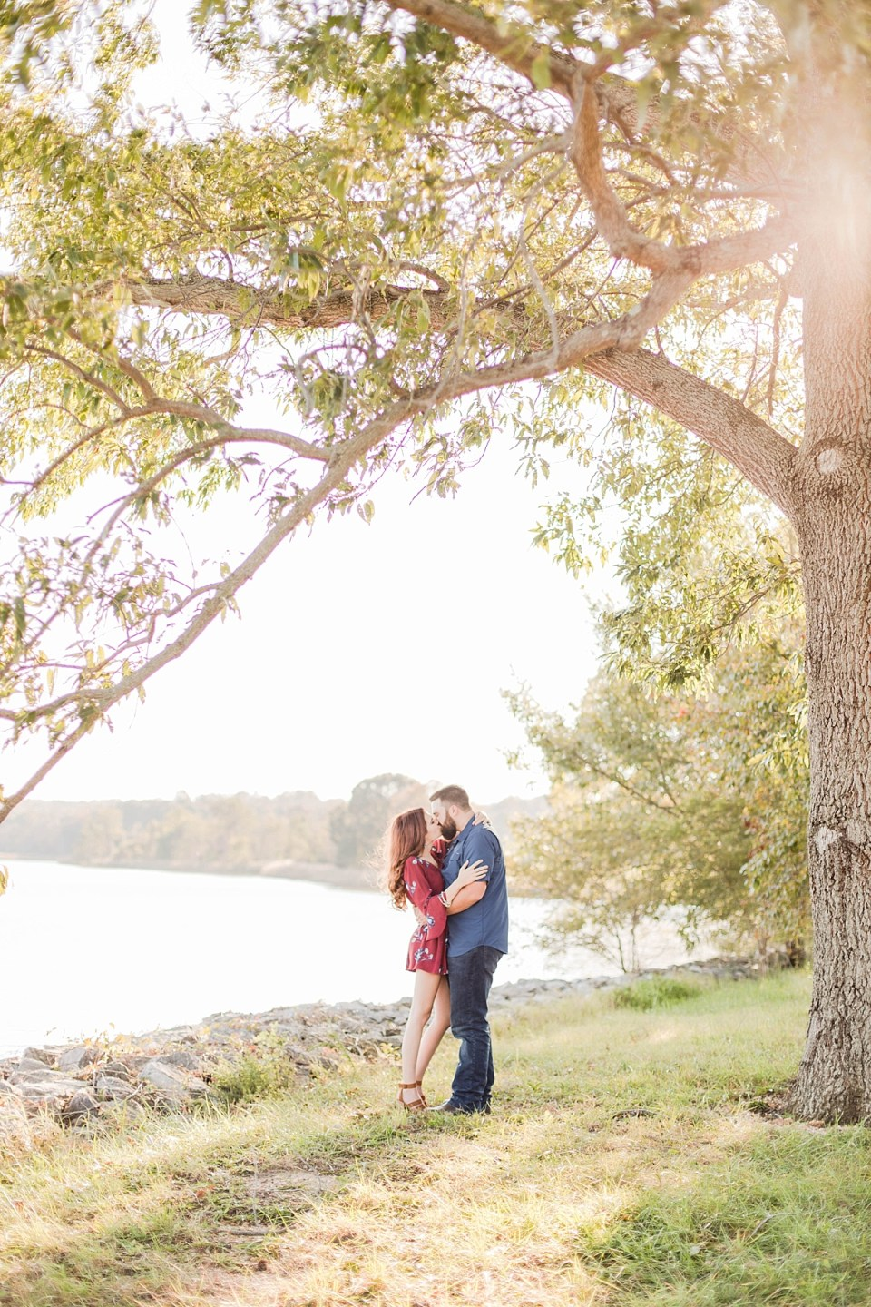 Southern Maryland Farm Engagement Session on the Water Costola Photography