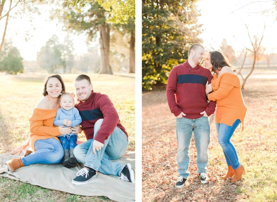 Fall Family Session in St. Mary's County
