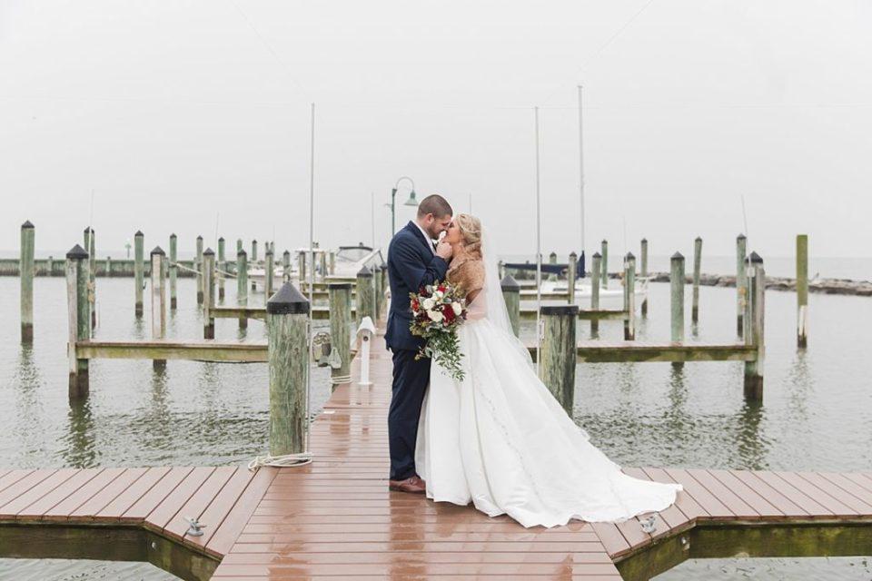 Chesapeake Beach Resort and Spa Winter Wedding