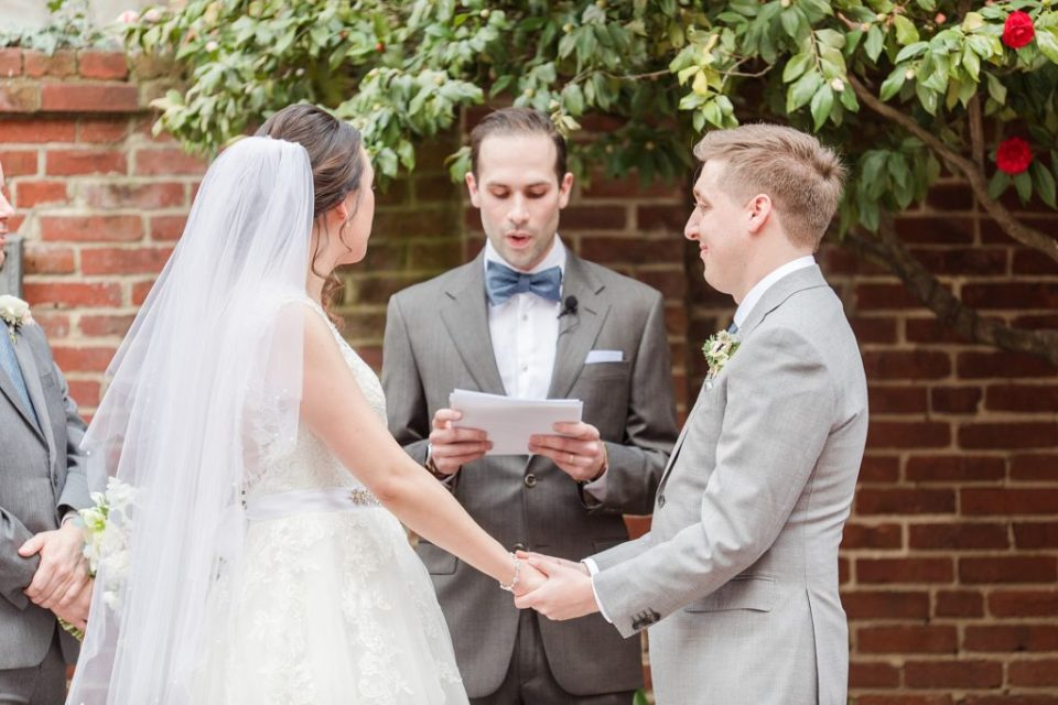 Spring Cherry Blossom Wedding at Decatur House in Washington D.C. Wedding