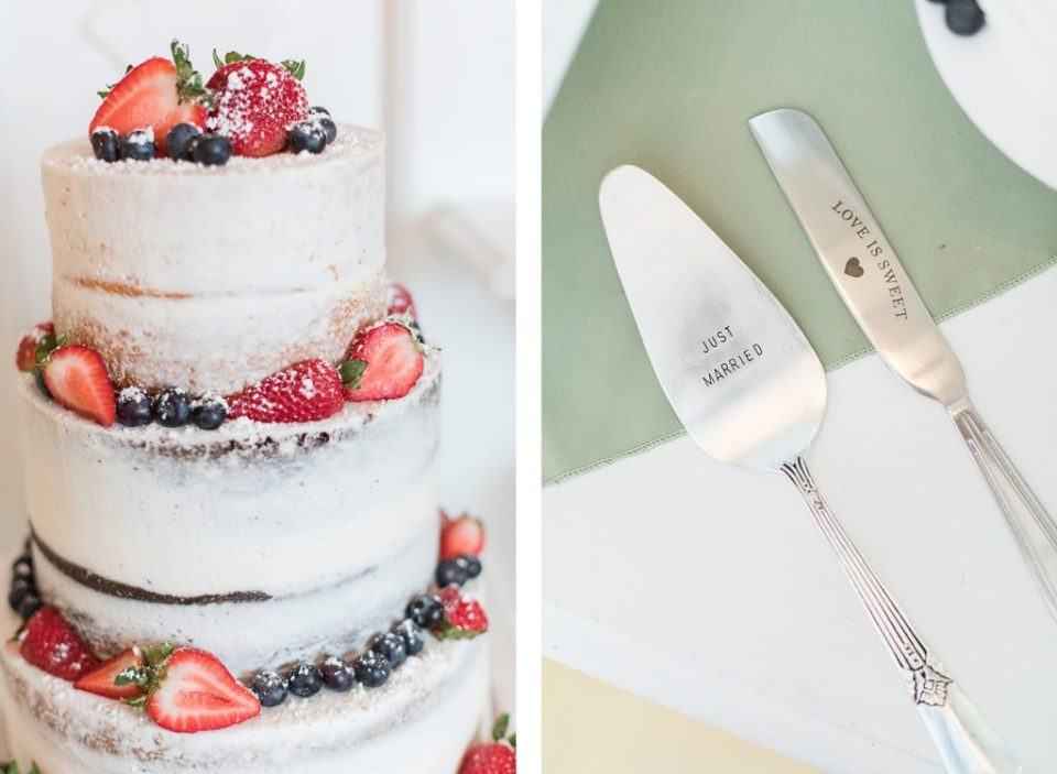 cake at flora corner farm photographed by costola photography