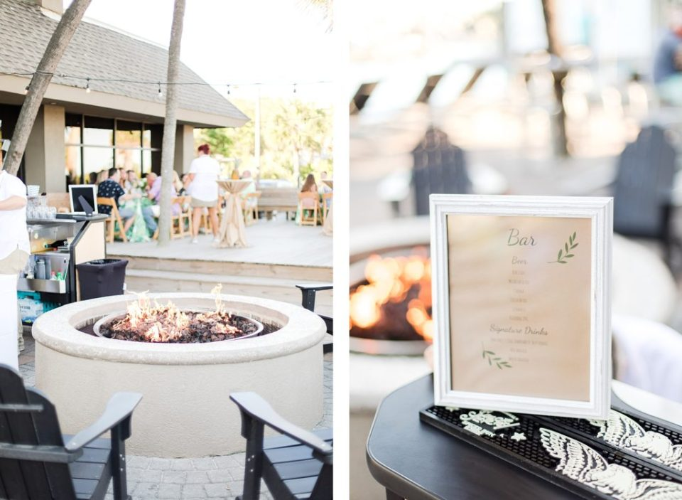 Rehearsal Dinner at The Beach House Resort in Hilton Head South Carolina by Costola Photography