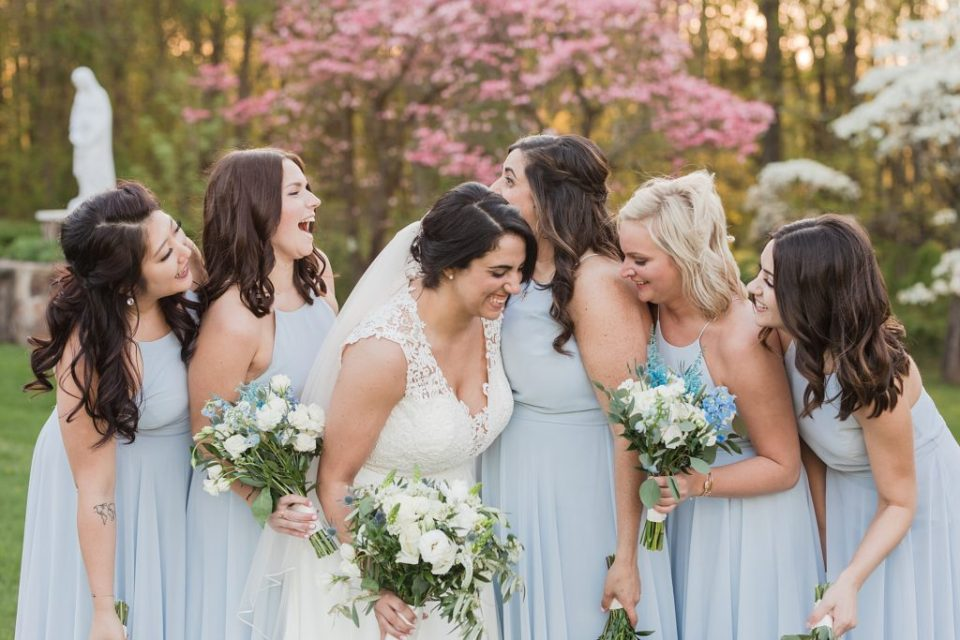 Spring Wedding at Stone House at Stirling Ridge in New Jersey by Costola Photography