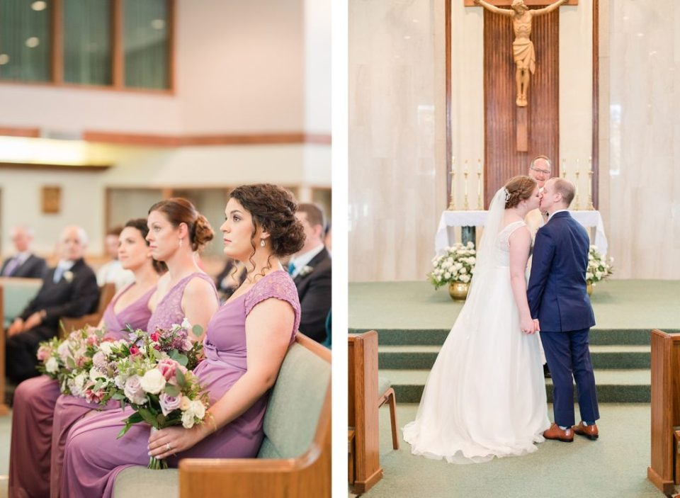 Wedding Ceremony in Arlington Virginia by Costola Photography