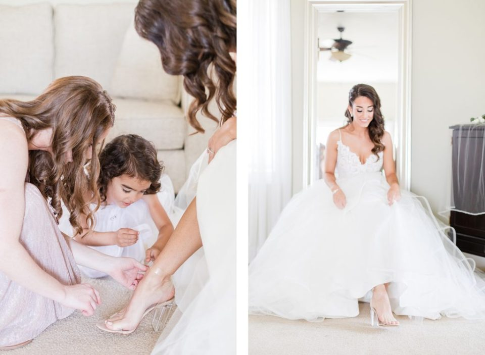 bride getting ready by costola photography