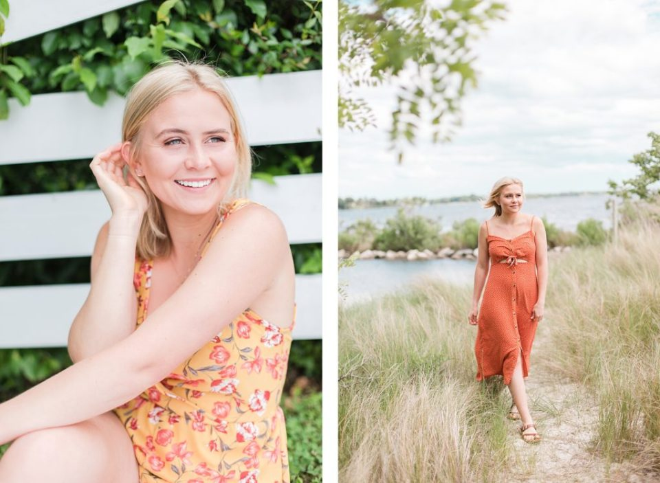 Senior Portraits at Jefferson Patterson Park by Costola Photography in Southern Maryland