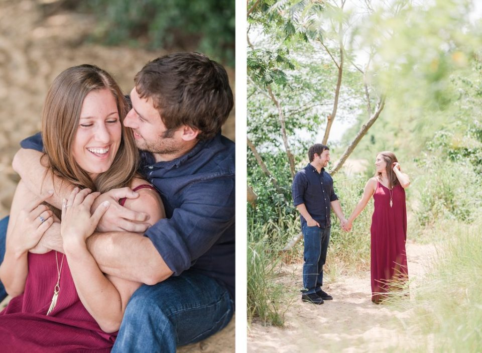 Summer Engagement at Newtowne Neck State Park by Costola Photography