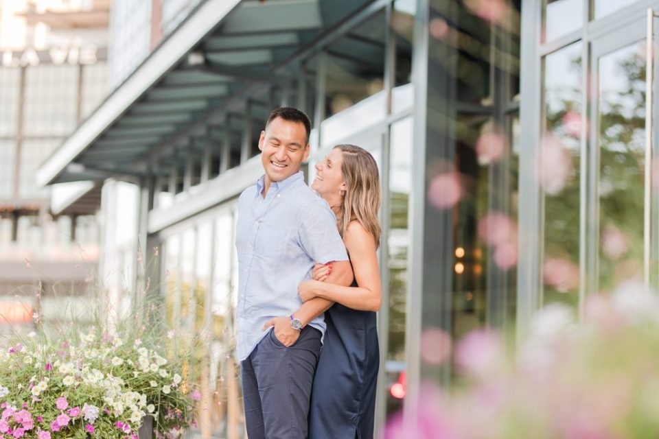 Summer Engagement at The Wharf in Washington DC by Costola Photography