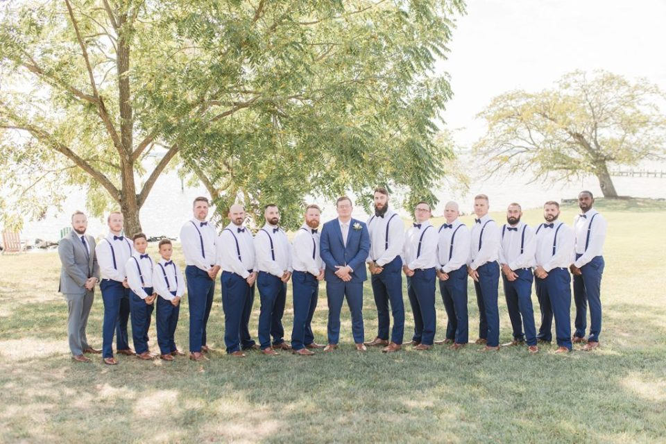 Groomsmen Party at Weatherly Farm photographed by Costola Photography
